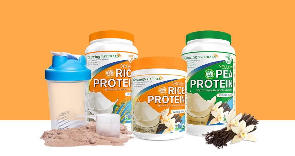 Plant proteins: Creative branding, packaging design & printing