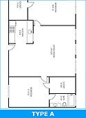 Black and White Floorplans