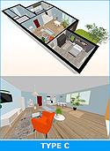 3D Floorplan with Walkthrough
