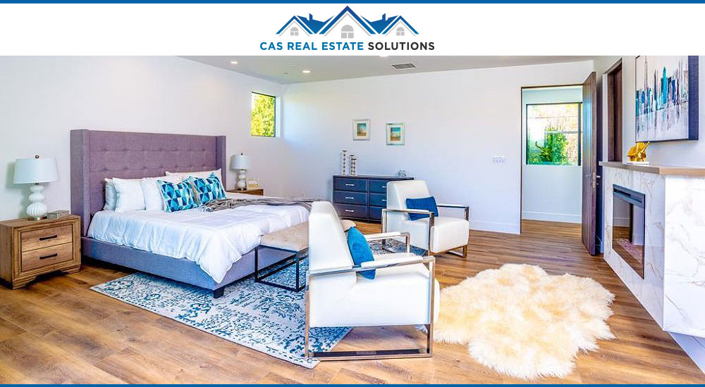 Home staging interior design project
