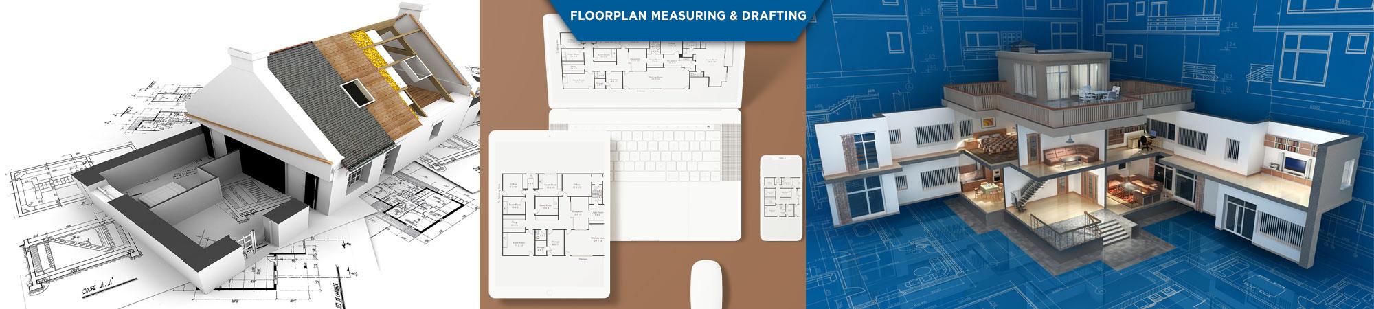 floorplan measuring drafting