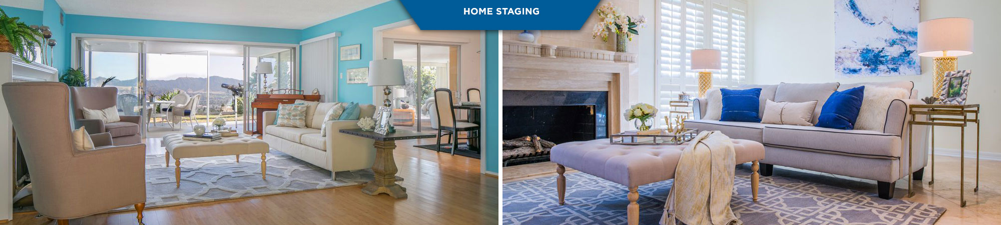 Home and apartment staging