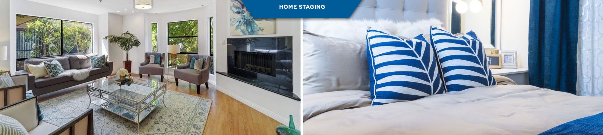 Interior design and staging