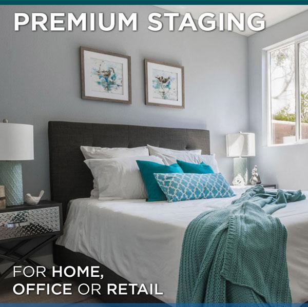 Premium home staging example