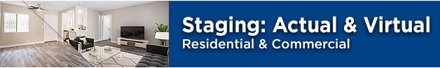 residential and commercial staging services