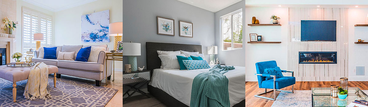 Traditional home staging design examples